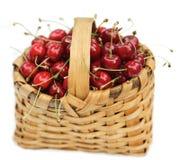 Cereza-cesta fotos de archivo libres de regalías