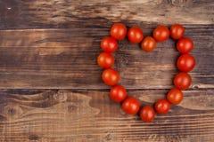 Cereza de los tomates Fotografía de archivo libre de regalías