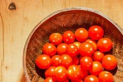 Cereza del tomate Foto de archivo