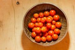 Cereza del tomate Imagen de archivo
