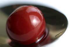 Cereza dulce - 3 Foto de archivo libre de regalías