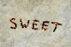 Cereza dulce de la comida fotografía de archivo libre de regalías