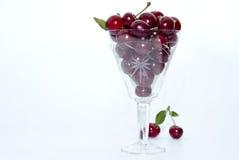 Cereza roja Foto de archivo libre de regalías