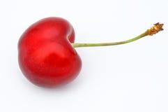 Cereza roja Imagen de archivo libre de regalías