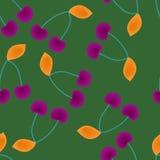 Cerezas coloreadas Foto de archivo