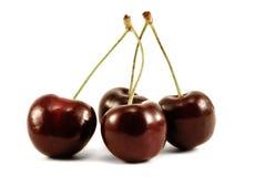 Cerezas dulces Imágenes de archivo libres de regalías