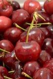 Cerezas rojas Imagenes de archivo