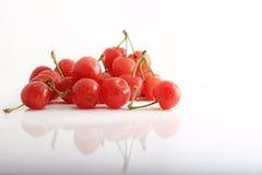 Cerezas rojas 1 Foto de archivo libre de regalías