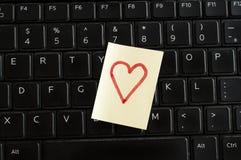 Cerf sur le clavier Photo libre de droits