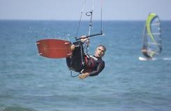 Cerf--surfer Photos libres de droits