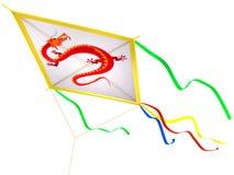 Cerf-volant avec un traditionnel illustration libre de droits