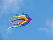 Cerf-volant d'arc-en-ciel Photographie stock libre de droits