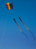 Cerf-volant d'arc-en-ciel Images libres de droits