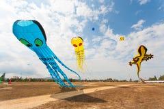 Cerf-volant de fantaisie de vol Photographie stock