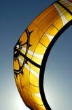 Cerf-volant de vague déferlante Image libre de droits