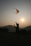 Cerf-volant de vol Photographie stock libre de droits
