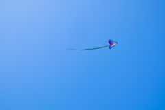 Cerf-volant de vol dans le ciel Photo libre de droits