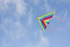 Cerf-volant en ciel Photos stock