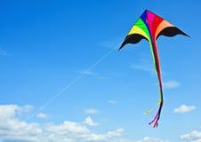Cerf-volant multicolore images libres de droits