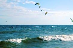 Cerf-volant surfant le Vietnam Photo stock