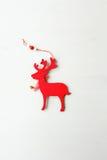 Cerfs communs décoratifs de Noël photo libre de droits