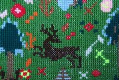 Cerfs communs de Brown Image stock