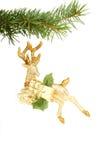 Cerfs communs de Noël Photos stock