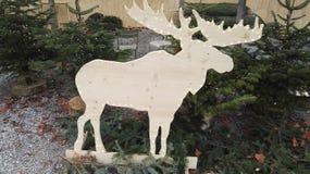 Cerfs communs de Noël photo stock