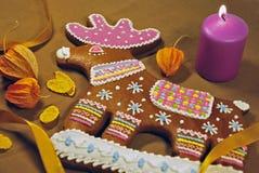 Cerfs communs de pain d'épice Images stock