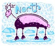 Cerfs communs du nord Photographie stock libre de droits