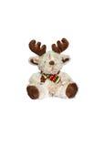 Cerfs communs - jouet de Noël images stock