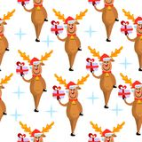 Cerfs communs pattern2 Photos stock