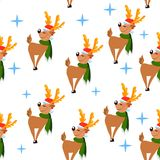cerfs communs pattern4 Photos stock
