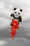 Cerfs-volants d'ours de nounours Photographie stock libre de droits