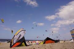 Cerfs-volants dans le ciel Images libres de droits
