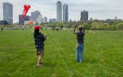 Cerfs-volants de cascade Photos libres de droits