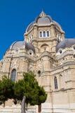 Cerignola中央寺院大教堂。普利亚。意大利。 免版税库存照片
