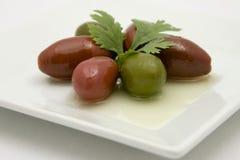 Cerignola橄榄 库存图片