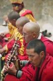 Cerimónia budista, Spiti Imagem de Stock
