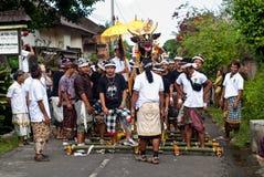 Cerimónia da cremação foto de stock