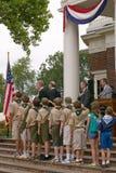 Cerimónia da naturalização do Dia da Independência Fotografia de Stock Royalty Free