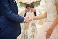 Cerimónia de casamento Foto de Stock