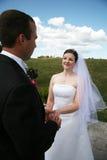 Cerimónia de casamento Imagens de Stock