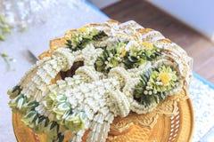 Cerimónia de casamento tailandesa Fotos de Stock