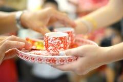 Cerimónia de chá Fotos de Stock