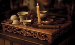Cerimónia de chá Fotografia de Stock Royalty Free