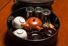 Cerimónia de chá japonesa Imagem de Stock Royalty Free
