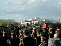 Cerimónia de funeral de Rauf Denktas Fotografia de Stock Royalty Free