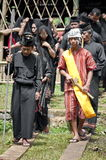 Cerimónia de funeral tradicional de Toraja Imagem de Stock Royalty Free