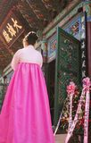 Cerimónia em Coreia fotografia de stock